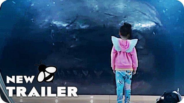 The Meg Trailer (2018) Jason Statham Monster Shark movie