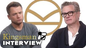 Kingsman 2 Interview: Kingsman 3, Man of Steel 2 & Alcoholic Beverages (2017)