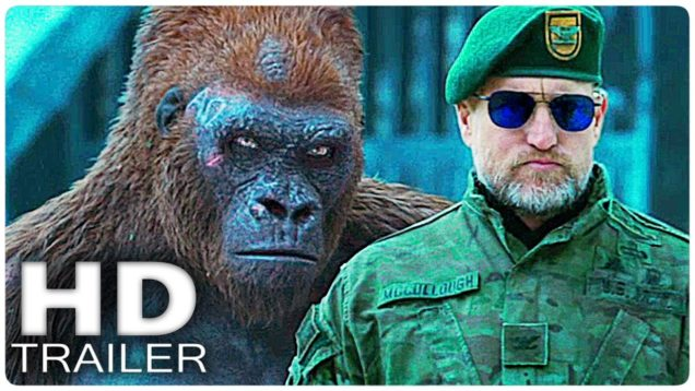 WAR FOR THE PLANET OF THE APES Trailer 2 (Extended) 2017