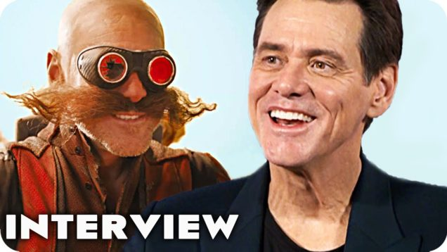JIM CARREY SUPER-FAST-Interview for Sonic the Hedgehog Movie (2020)