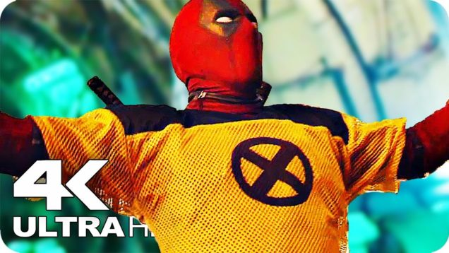 Deadpool 2 All Trailers 4K Ultra HD (2018) Ryan Reynolds Movie
