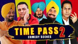Time Pass | Part II | Punjabi Movies | Comedy Scenes | Bhalla, Ghuggi, Binnu, B N Sharma & Gurchet