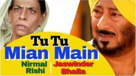 Tu Tu Main Main   Jaswinder Bhalla   Nirmal Rishi   Full Punjabi Movie   Comedy   Lockdown 2020