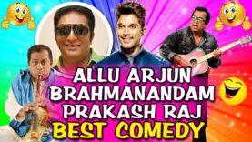 Allu Arjun, Brahmanandam & Prakash Raj Best Evergreen Comedy Scenes
