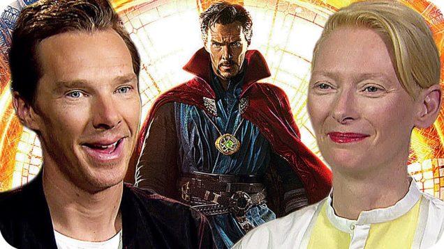 DOCTOR STRANGE Benedict Cumberbatch, Tilda Swinton & Scott Derrickson Interview (2016) Marvel Movie