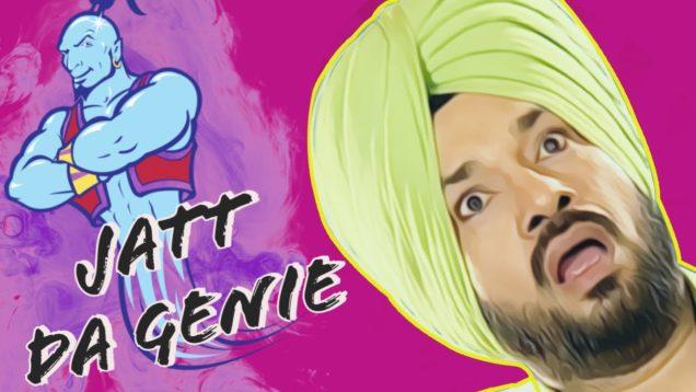 Jatt Da Genie : Gurpreet Ghuggi | Punjabi Comedy Movie | Lockdown 2020 | StayHome