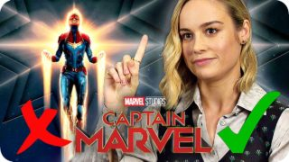 Thanos said what?! Brie Larson knows the MCU! | CAPTAIN MARVEL Interview