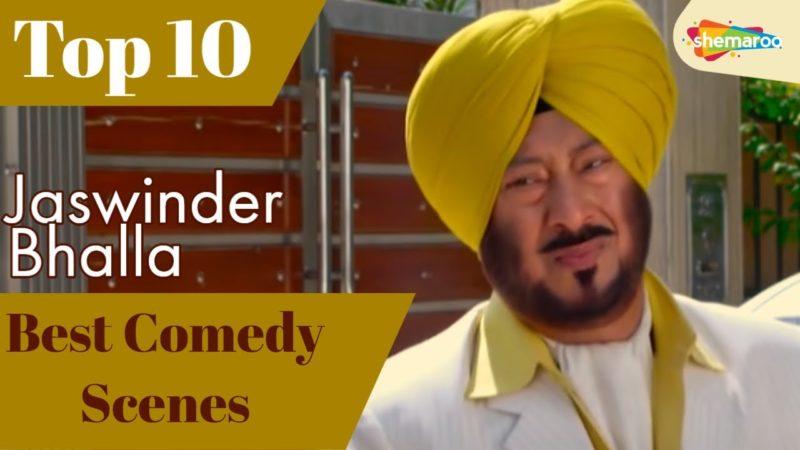 Best Comedy Scenes Jaswinder Bhalla   Top10 Punjabi Movies Funny Scenes   B N Sharma   Binnu Dhillon