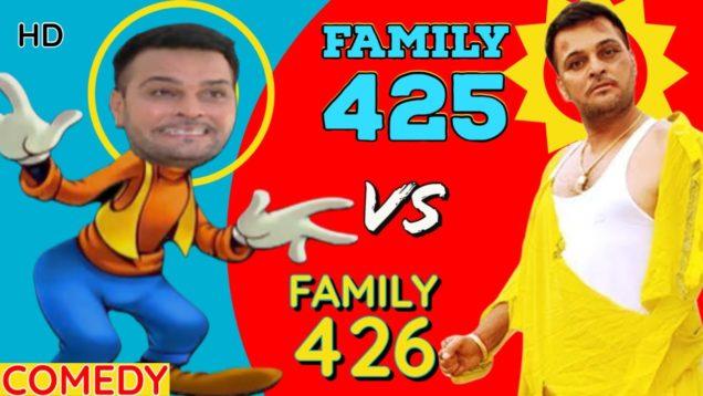 Family 425 VS Family 426 – Best Comedy Movies – Punjabi Movies – Best Comedian Gurchet Chitarkar