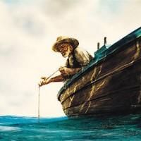 sea and oldman