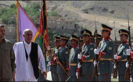 افغانستان،پنج شیر کی سیکورٹی کی ذمہ داری افغان فورسز کے سپرد
