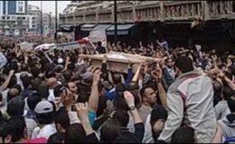 حمص :شامی فوج کی جلوس جنازہ پر فائرنگ،مزید 3ہلاک