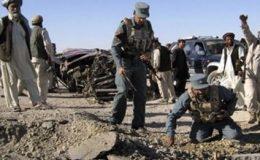 ہلمند : سڑک کنارے بم دھماکے میں اٹھارہ شہری ہلاک