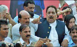 راولپنڈی : وزیراعظم آزاد کشمیرکا بینظیر بھٹو کی جائے شہادت کا دورہ