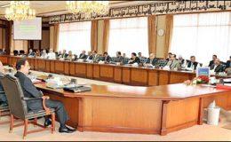 اسلام آباد: وزیراعظم کی زیر صدارت وفاقی کابینہ کا اجلاس جاری ہے