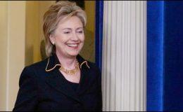امریکی وزیرخارجہ ہلیری کلنٹن ہانگ کانگ پہنچ گئیں