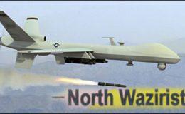 شمالی وزیرستان : امریکی جاسوس طیارے کا حملہ، چار افراد ہلاک