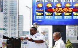 امریکا میں گرمی شدید ہوگئی، ہزاروں افراد متاثر
