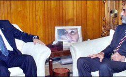 اسلام آباد : صدر سے وزیر اعلیٰ بلوچستان کی ایوان صدر میں ملاقات