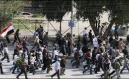 شام : فوج کی مظاہرین پر فائرنگ، مزید 45 شہری ہلاک