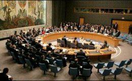 سیکورٹی کونسل کی شام پر پابندیاں لگانے کیلئے مشاورت شروع