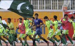 کراچی : فاتح پاکستان انڈر16 پاکستان فٹبال ٹیم وطن واپس پہنچ گئی