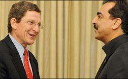 اسلام آباد : مارک گراس مین کی وزیراعظم گیلانی سے ملاقات