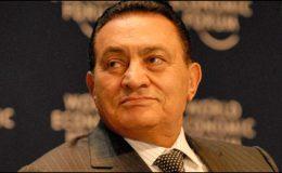 قاہرہ : حسنی مبارک اور بیٹوں پر فرد جرم عائد
