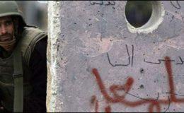رملہ: اسرائیلی فوج کی فائرنگ سے2 فلسطینی شہید