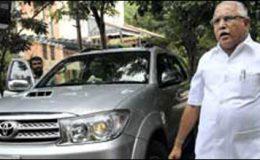 بھارت : کرناٹک ریاست کے وزیراعلی مستعفی