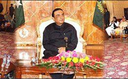 اسلام آباد : کراچی میں قیام امن کیلئے ایوان صدر میں اجلاس