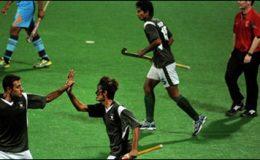 چار ملکی نائن اے سائیڈ ہاکی :پاکستان کے ہاتھوں بھارت کو شکست