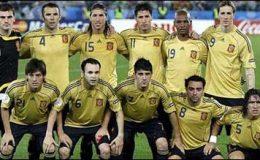 فٹ بال: اسپین کی ٹیم بدستور پہلے نمبر پر