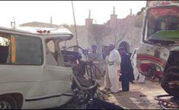 ٹھٹھہ حادثہ: انتظامیہ اور پولیس علیحدہ علیحدہ تحقیقات کرینگی