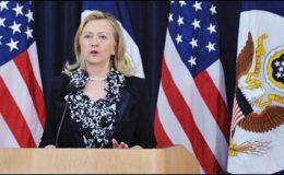 گیارہ ممالک نے ایران سے تیل کی خریداری کم کردی، ہیلری کلنٹن