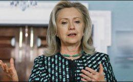 پاکستان میں جمہوریت کی مضبوطی امن کیلئے بہتر ہے، ہیلری کلنٹن