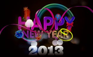 Happy New Year 2013 HD and Widescreen Wallpapers