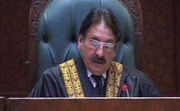 قانون کی بالادستی سے جمہوریت چل رہی ہے: چیف جسٹس