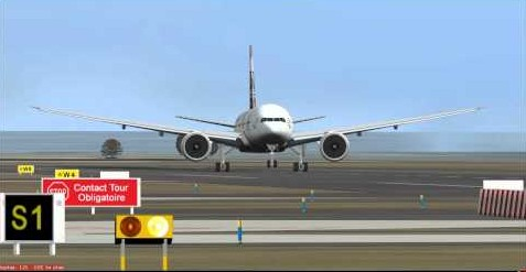 فرانسیسی خاتون لاہور سے واپس جاتے طیارے میں سو گئی