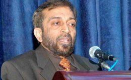 کراچی ، کو جرائم سے نجات دلانے کی کوشش کر رہے ہیں : فاروق ستار