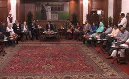پاکستان اور بھارت کے عوام لڑائی نہیں ترقی چاہتے ہیں، گورنر سندھ