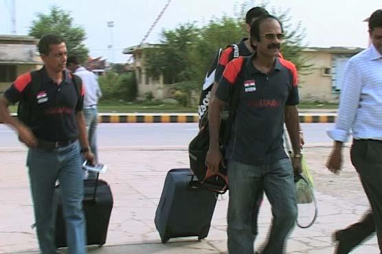 بھارتی اسکواش ٹیم کی 5 سال بعد پاکستان آمد