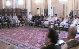 صدر اور وزیراعظم کی زیر صدارت اتحادی جماعتوں کا اجلاس