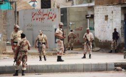 کراچی : مسلم آباد میں رینجرز آپریشن ، 2 ملزم ہلاک ، 2 اہلکار زخمی