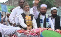نگران سیٹ اپ پر معاہدے کی مخالفت کرینگے: منور حسن