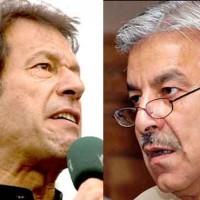 imran khan and khawaja asif