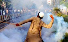 اسلام آباد: گستاخانہ فلم کیخلاف احتجاج و جھڑپیں، 51 افراد زخمی، فوج طلب