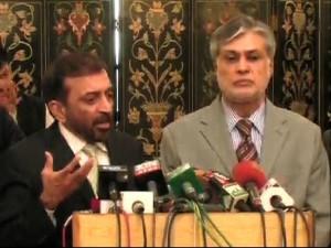 nawaz league and mqm
