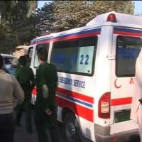 van crash Gilgit