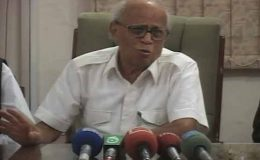 اصغر خان کیس، سیاستدانوں کیخلاف کارروائی نہیں کر سکتے: فخرو الدین ابراہیم